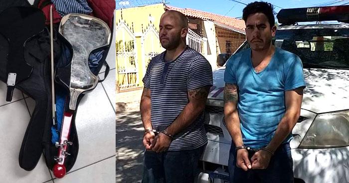 Mexicanos guardarán prisión mientras los investigan tras hallarles droga oculta en instrumentos musicales