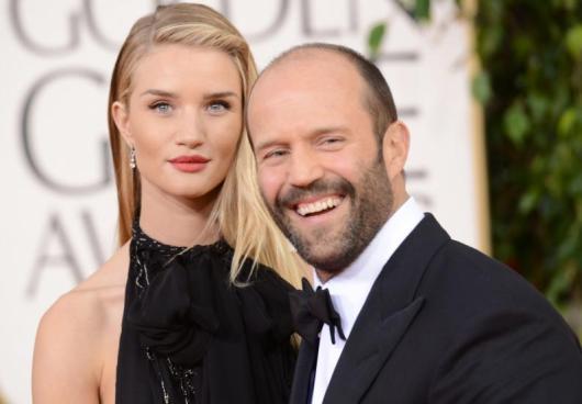 Nace el primer hijo de Jason Statham y Rosie Huntington