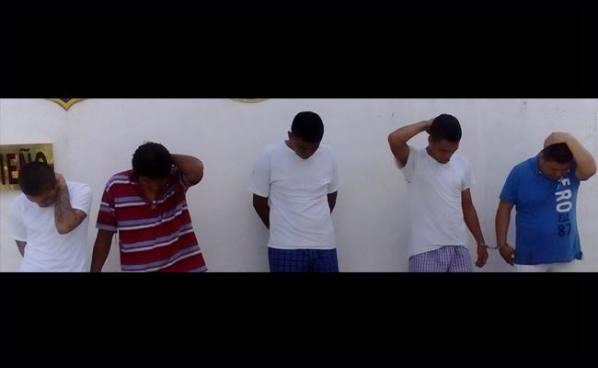 Capturan a 6 sujetos por tráfico de drogas en Usulután