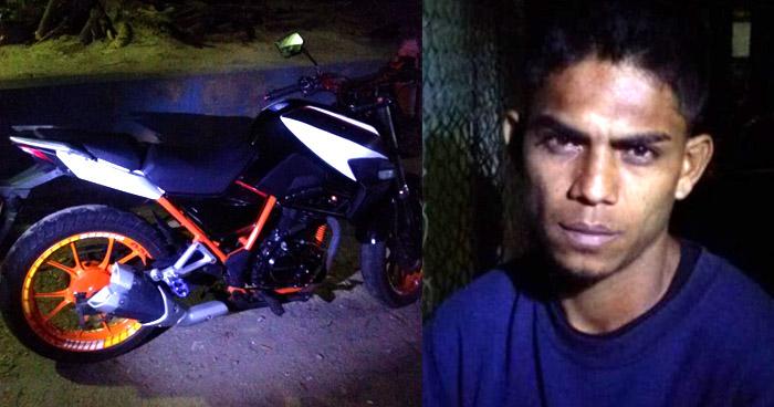 Capturado tras robar una motocicleta en Chalchuapa