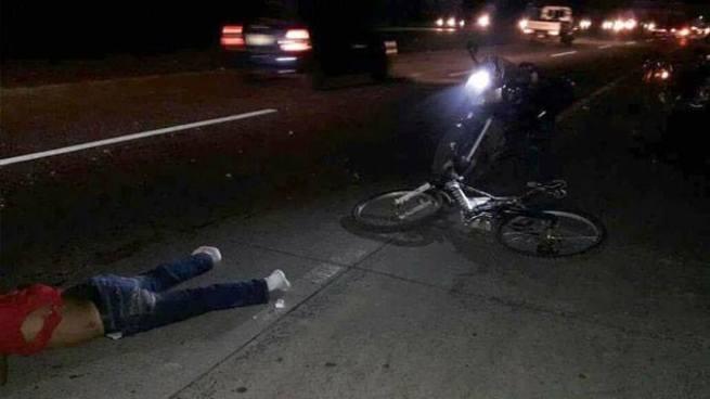 Ciclista muere tras grave accidente de tránsito en carretera Panamericana