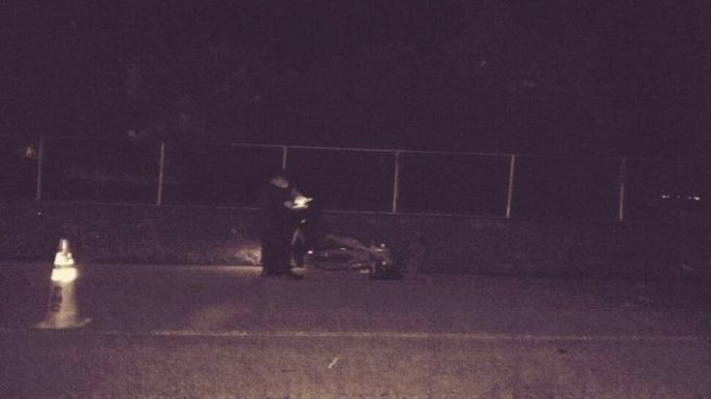 Motociclista muere tras impactar con un vehículo en San Vicente