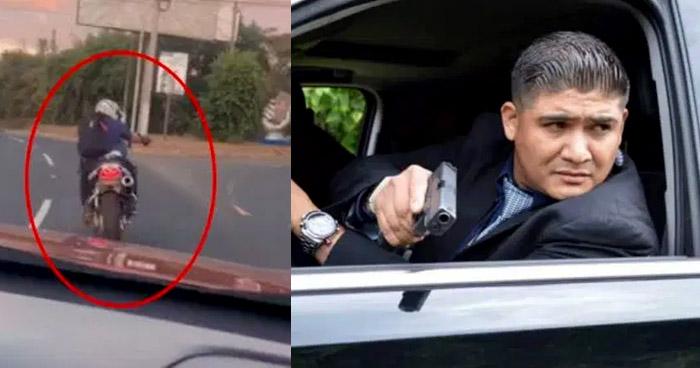 Despiden a Omar Quezada, motociclista que disparó contra un automovilista en desvío al Puerto