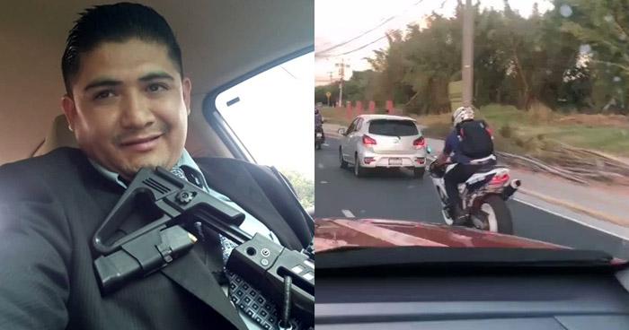 Motociclista que disparó contra vehículo será procesado en libertad