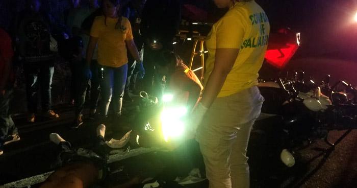 Motociclista fallecido tras ser arrollado por una rastra en carretera de Oro