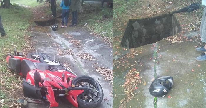 Motociclista muere tras sufrir accidente en San Rafael Cedros