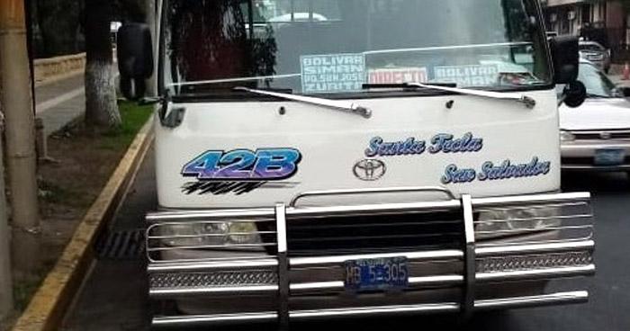 Detienen a motorista de la Ruta 42-B que conducía en estado de ebriedad