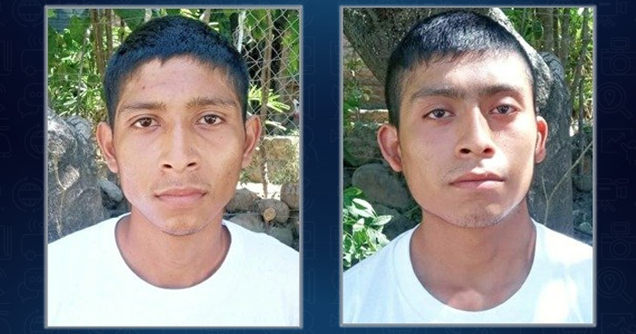 Hermanos pandilleros capturados por homicidio en La Libertad