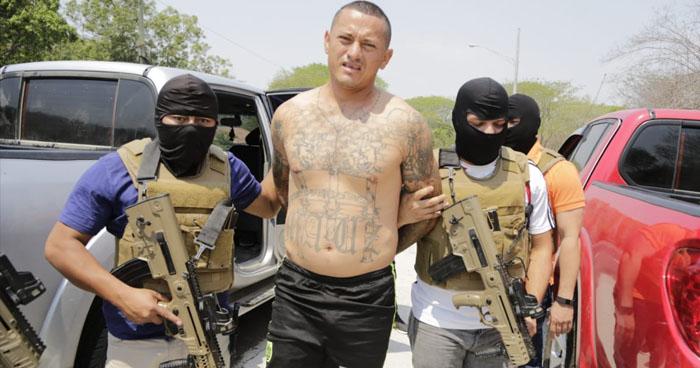 Peligroso cabecilla salvadoreño de la MS extorsionaba y traficaba drogas en Honduras