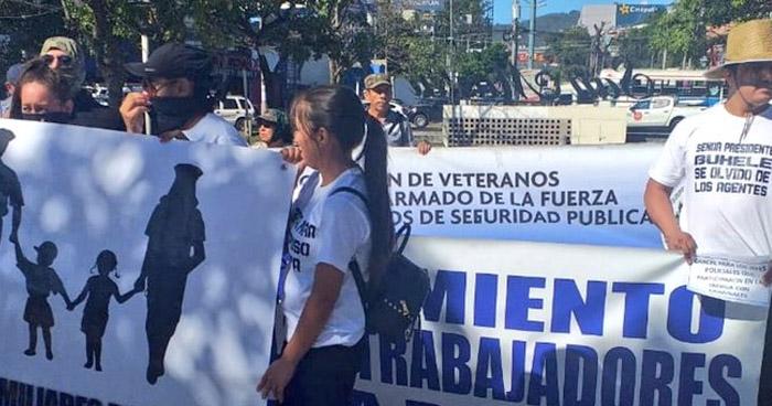 Movimiento de Trabajadores Policiales exigen aumento salarial y mejores condiciones para policías