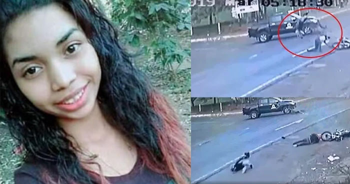 Muere acompañante de motociclista cuyo choque fue captado en video en San Miguel