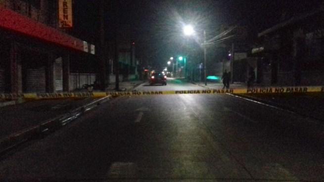 Muere motociclista tras ser embestido por un vehículo en Santa Tecla