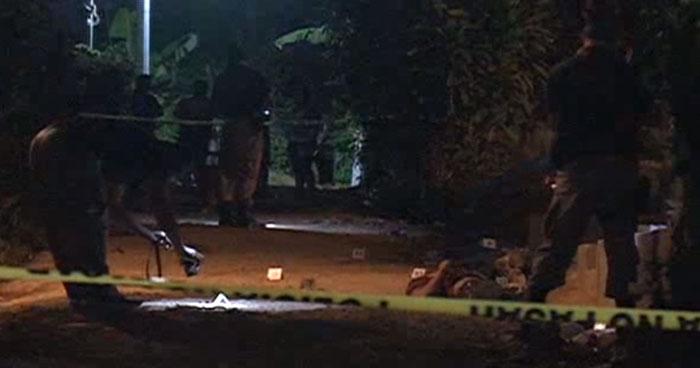 Tres supuestos pandilleros fueron asesinados anoche en Guaymango, Ahuachapán