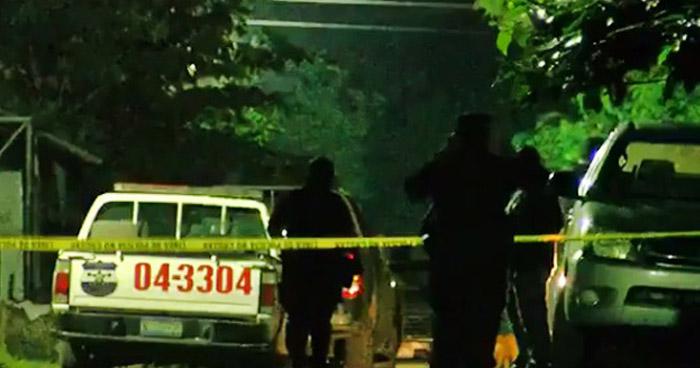 Mujer fue asesinada al interior de su vivienda en San Miguel, su hija escucho los disparos