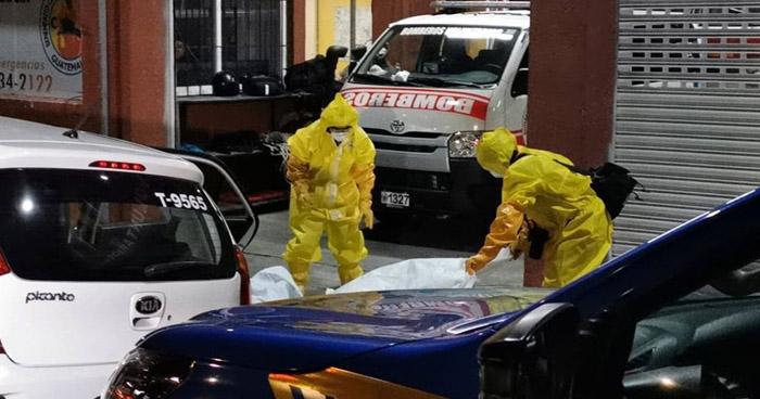 Guatemala: Mujer con fiebre muere en taxi sobre carretera a El Salvador
