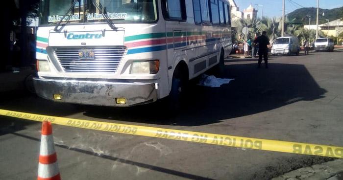 Anciana muere al ser atropellada por motorista de la Ruta 2 en Morazán