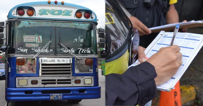 Sancionan a ruta 101-A por incrementar tarifa del pasaje de manera ilegal