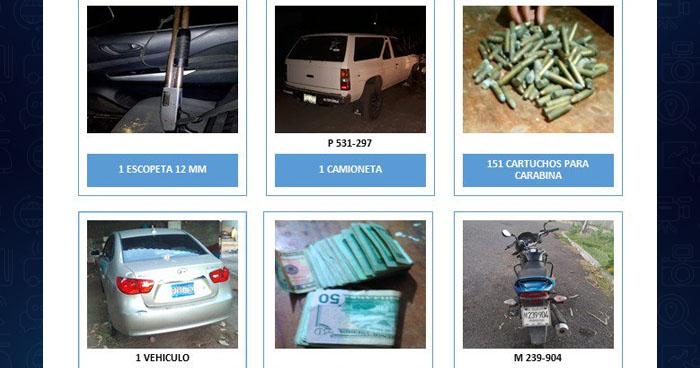Capturan a narcotraficantes con más de $18 mil en efectivo, armas y vehículos