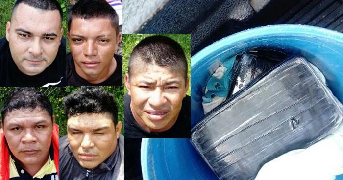 Nicaragüenses y salvadoreños son condenados por tráfico de drogas en La Unión