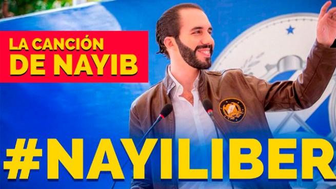 """El nuevo éxito en redes sociales: """"Nayiliber"""" la canción dedicada a Nayib Bukele"""
