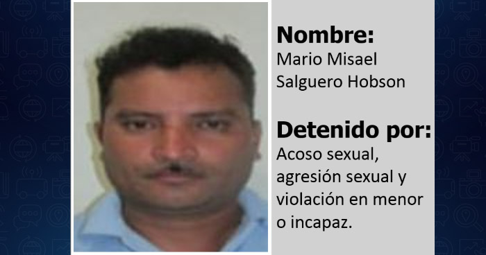 Nicaragüense condenado por violar a una mujer y a dos menores de edad