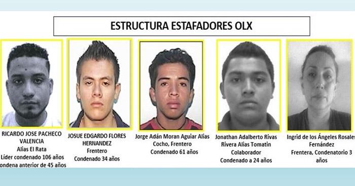 Condenan a banda que se dedicada a estafar en plataforma OLX
