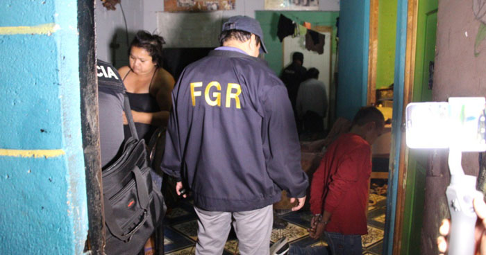 Desarticulan a estructura de 30 pandilleros que operaban en Cuscatlán