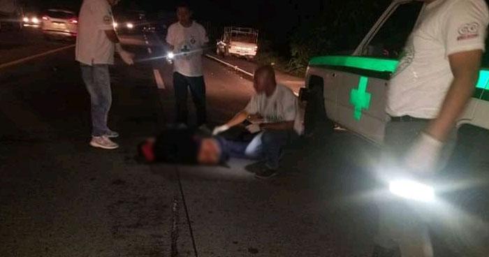 Un fallecido y dos lesionados tras accidente en carretera Panamericana