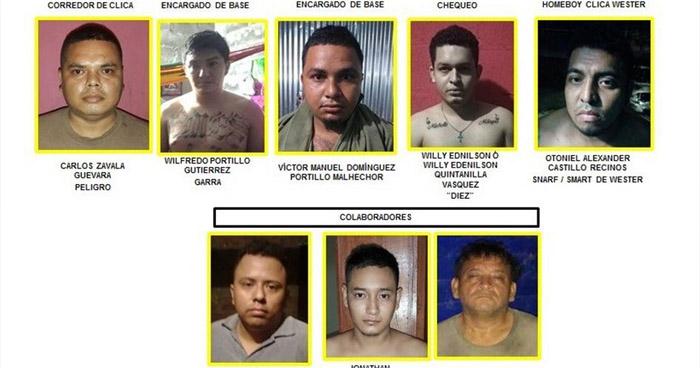 Giran orden de captura contra 23 miembros de la MS que operaban en San Miguel