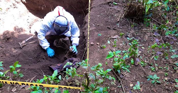 Finalizan inspección forense en zona de hallazgo de osamentas en Colón