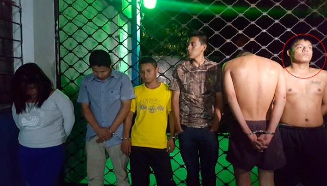 Capturan a palabrero de la 18-R y a seis pandilleros más que amenazaban y atentaban contra ciudadanos en San Salvador