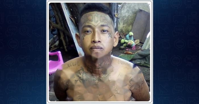 """Capturan al """"Demente"""" cabecilla de pandilla que operaba en Usulután"""