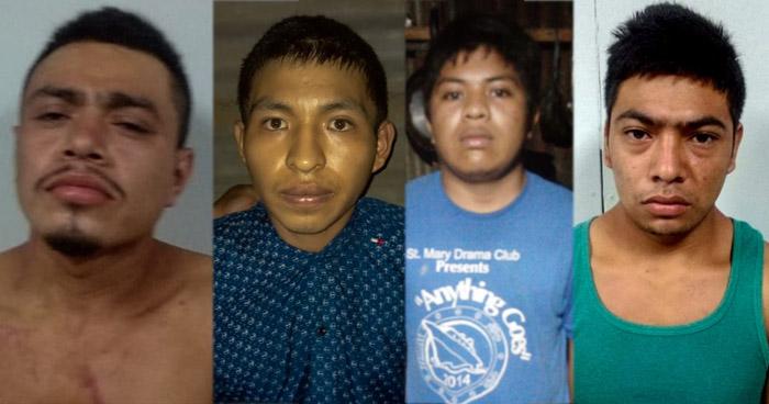 Capturan a 6 miembros de la MS-13 que operaban en Sonsonate
