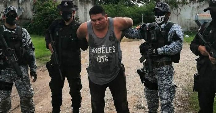 Cae peligroso pandillero requerido por 5 órdenes de captura
