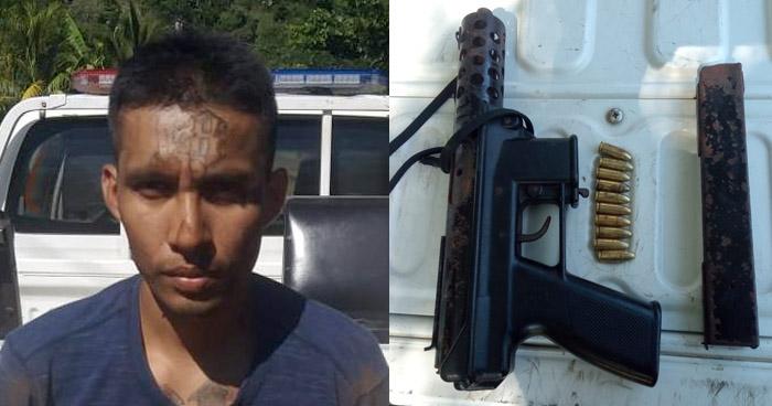 Arrestan a pandillero armado en La Unión