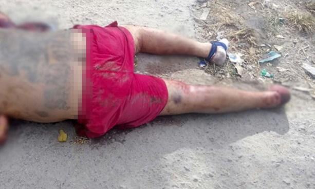Pandillero es degollado y acribillado a balazos en Nahuizalco, Sonsonate