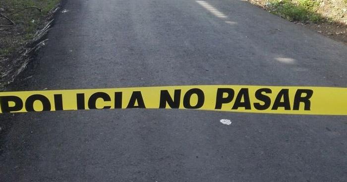 Pandillero asesinado cuando conducía una motocicleta en Santiago Nonualco, La Paz