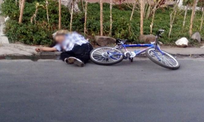 Pandillero es asesinado a balazos frente a un centro escolar en Chalchuapa, Santa Ana