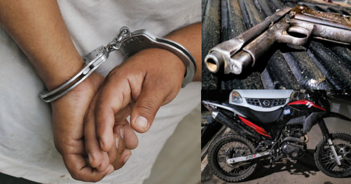 Capturan a pandillero instantes después de intentar quitarle la vida a una persona