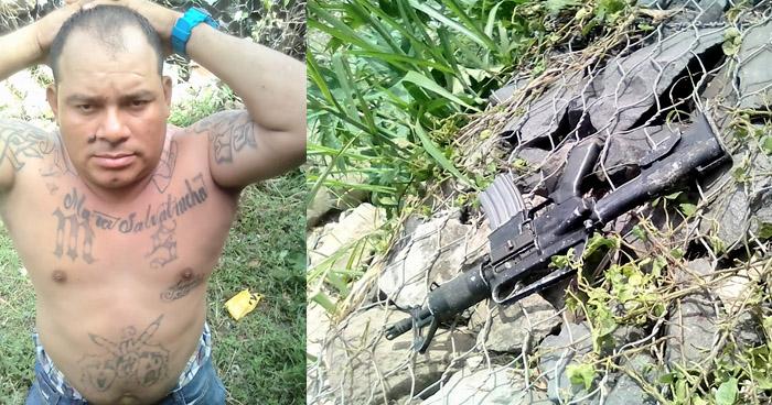 Cae pandillero que atacó a policías cuando realizaban un patrullaje en La Chacra, San Salvador
