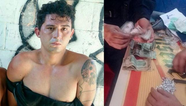 Pandillero intentó huir con ilícitos por los techos de las viviendas en Ilopango pero fue en vano