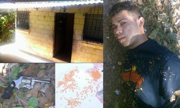 Pandillero es capturado luego de enfrentarse a tiros con agentes de la STO en La Libertad