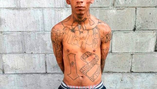 Capturan a peligroso pandillero, mientras distribuía droga en San Martín