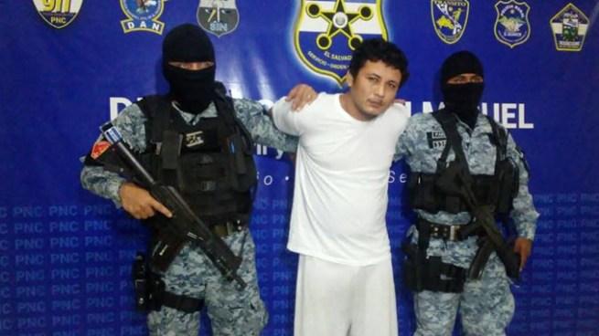 Capturan en San Miguel a pandillero acusado de cometer al menos 5 asesinatos