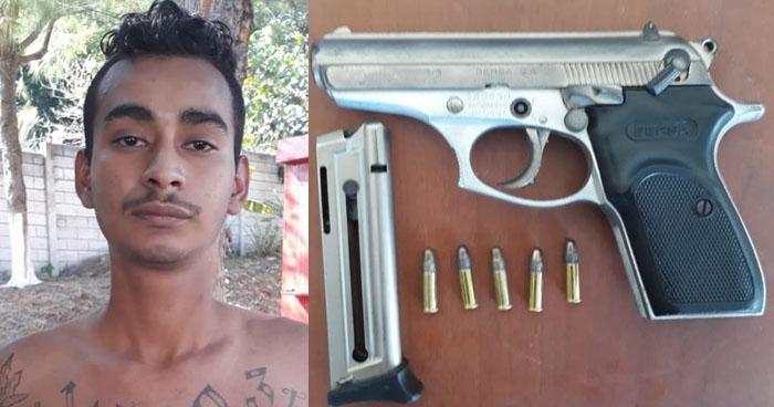 Capturan a pandillero que delinquía en colonia de Soyapango