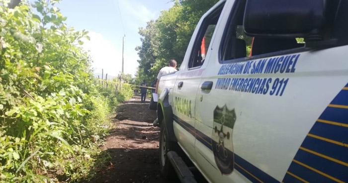 Localizan cadáver desmembrado de un pandillero en El Tránsito, San Miguel