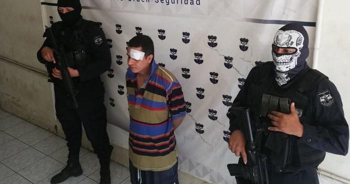 Capturan a pandillero que vivía de extorsionar a familias en San Miguel