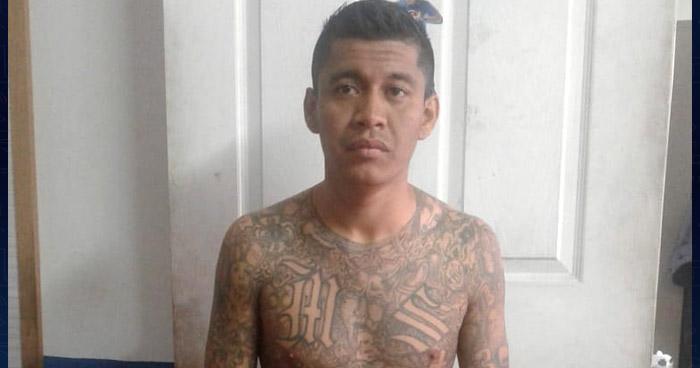 Peligroso miembro de la MS fue capturado en Mejicanos