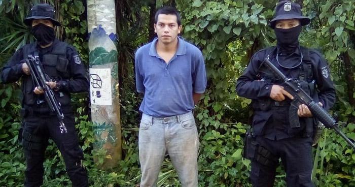 Capturan a pandillero que se dedicaba a cobrar extorsión en Morazán