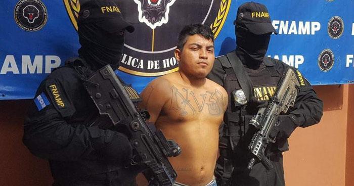 Pandillero salvadoreño pretendía crear su propia clica en Honduras